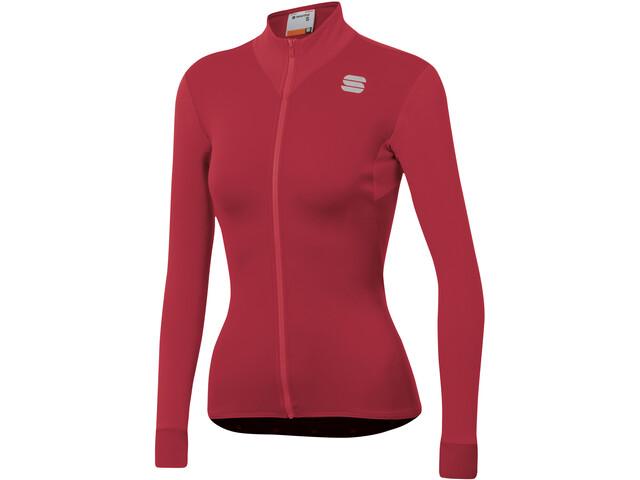 Sportful Kelly Thermal Jersey Women red rumba